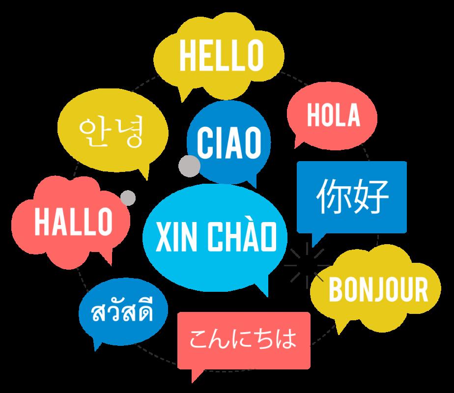 Hỗ trợ đa ngôn ngữ