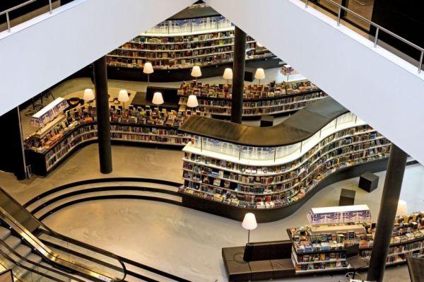 Thư viện mới ở Almere, Hà Lan