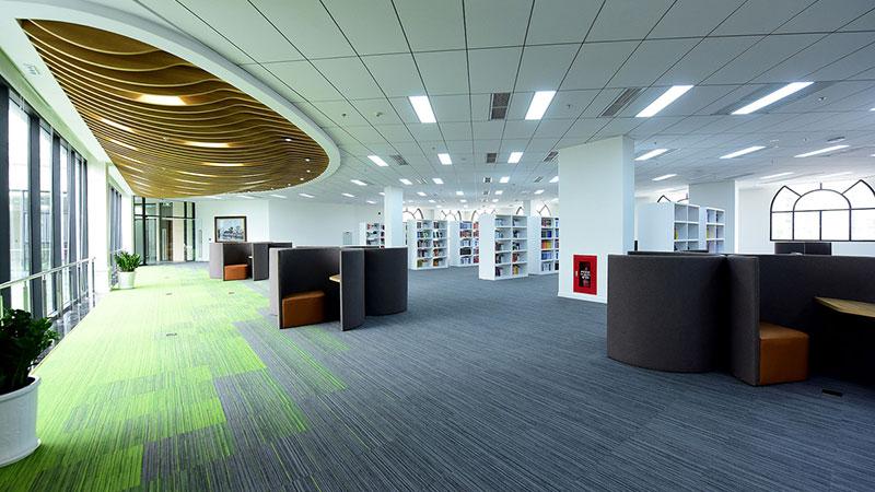 Không gian chung thư viện Vinuni