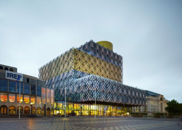 Thư viện Birmingham - thư viện hiện đại nhất thế giới