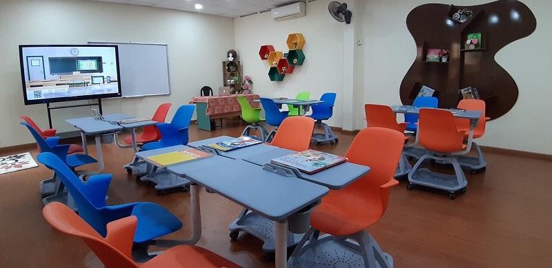 Phòng học thông minh cấp tiểu học