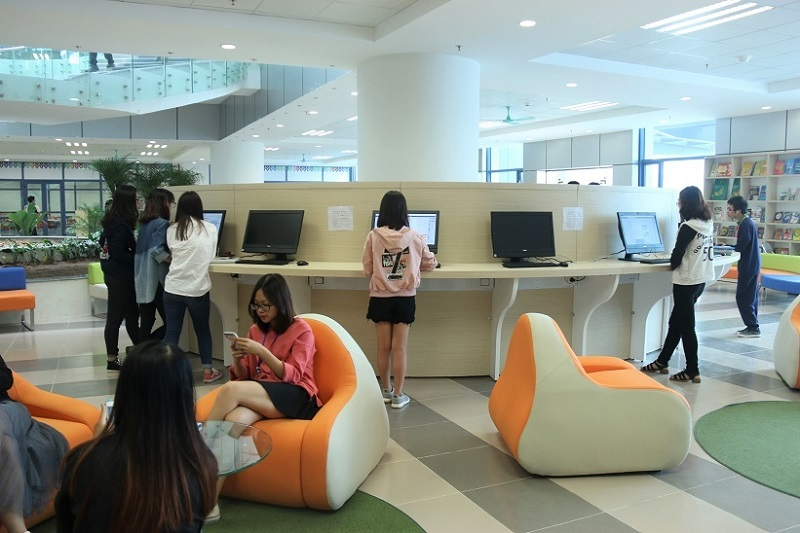 Thư viện trường Đại học Kinh tế Quốc dân-2