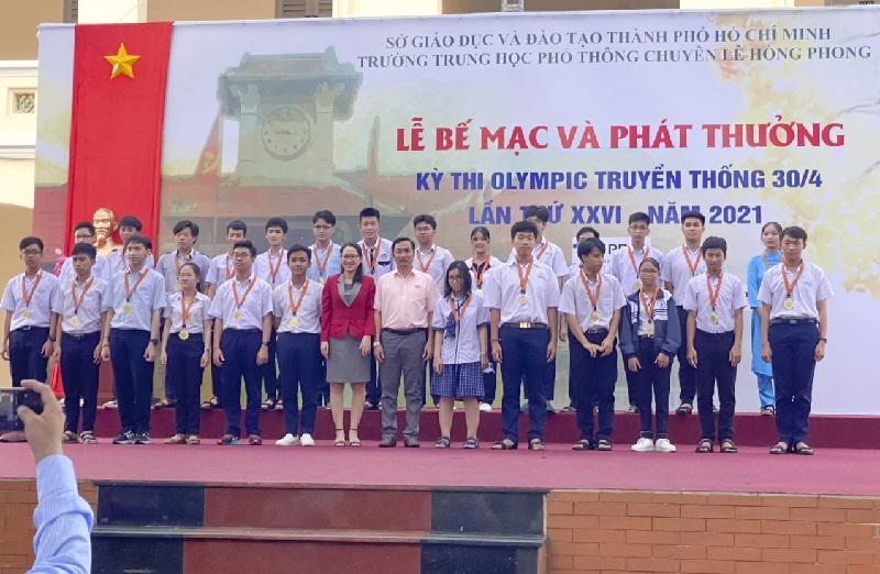 Lễ bế mạc Cuộc thi Olympic truyền thống 30/4 lần thứ XXVI năm 2021