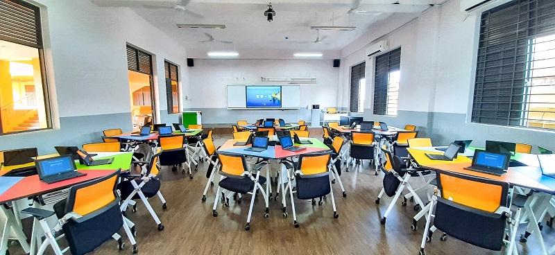 Phòng học thông minh trường THPT chuyên Lê Hồng Phong