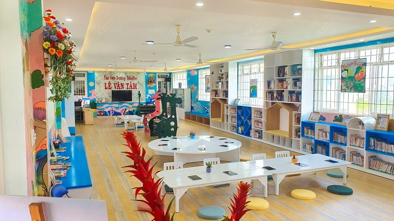 Không gian tổ chức trong thư viện thông minh